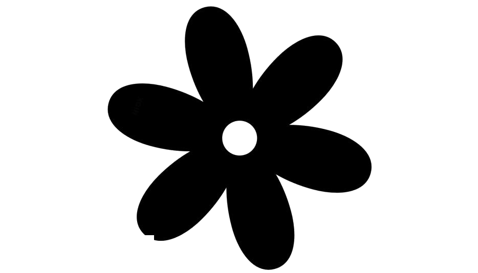 Turquoise Flower Vector Png