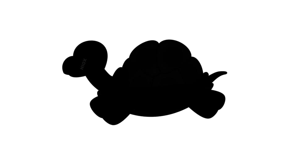 Turtle Silhouette Clip Art PNG